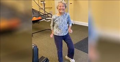 91-Year-Old Dances The Jitterbug To 'Jailhouse Rock'