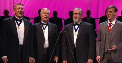 Barbershop Quartet Sings 'It Is Well With My Soul'