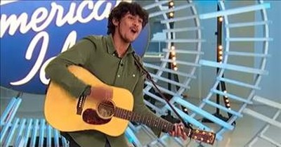 Arthur Gunn Moves The Judges With 'Have You Ever Seen The Rain' Audition