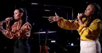 Powerhouse Vocalists Perform 'The Prayer' Duet On American Idol
