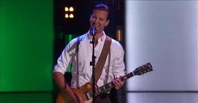 Anders Drerup's Unique Blind Audition Of 'Can't Help Falling In Love' On The Voice