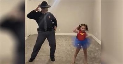 Dad Dances With Daughter After Coronavirus Cancels Her Dance Competition