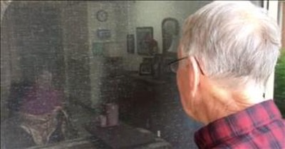 Man Sings To His Wife Every Day Through Nursing Home Window