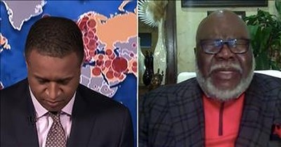 MSNBC Host Asks Bishop T.D. Jakes To Lead Prayer On Live Television