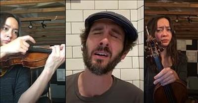 'Hallelujah' Josh Groban Performs Virtual Duet During Quarantine