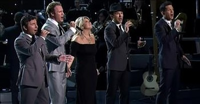 'Amazing Grace' The Tenors And Natalie Grant Sing Classic Hymn