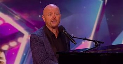 Musical Comedian Jon Courtenay Earns Golden Buzzer With Funny Piano Audition