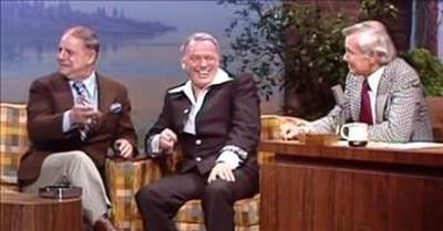Don Rickles Surprises Frank Sinatra In 1976 Johnny Carson Clip