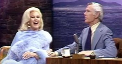 Johnny Carson Dances With Ginger Rogers In Clip From The Tonight Show