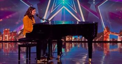 Visually Impaired Contestant Sirine Inspires On Britain's Got Talent