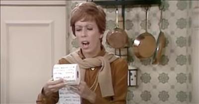 Viral Toilet Paper Sketch From The Carol Burnett Show