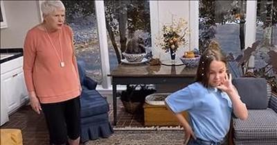 Jeanne Robertson Has Hilarious Reaction To Granddaughter's TikTok