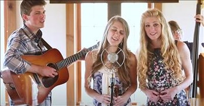 Family Bluegrass Bands Sings 'I Know Who Holds Tomorrow'