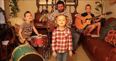 Musical Family Sings 'Take Me Home Country Roads' During Quarantine