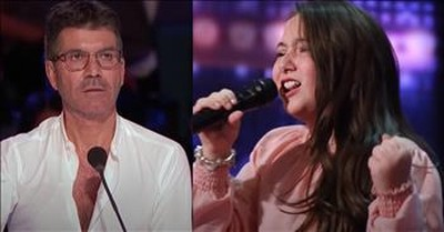 10-Year-Old Roberta Battaglia Earns Golden Buzzer With Powerhouse Vocals