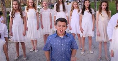 11-Year-Old Blake Sings Stunning Rendition Of 'You Raise Me Up'