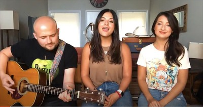 3 Siblings Perform Inspiring Rendition Of 'I'll Be There'
