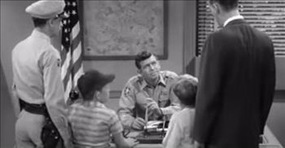 Classic Clip From The Andy Griffith Show On How To Not Raise A Spoiled Kid