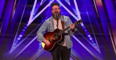 Nolan Neal Overcomes Addiction And Performs Inspiring Original 'Lost' On AGT