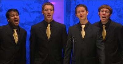 Barbershop Quartet Performs Etta James Classic 'At Last'