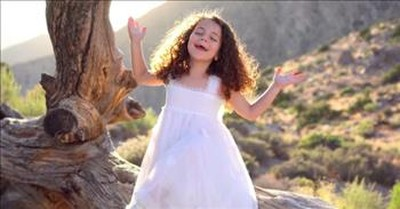 7-Year-Old Sophie Fatu Sings 'All The Way' By Frank Sinatra