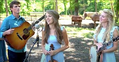 'Carolina In My Mind' The Petersens Family Bluegrass Band Performance