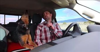 Country Singer Serenades Dog With 'Look At You' Audition On AGT
