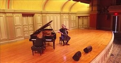 'Hallelujah' Performance From Husband And Wife Duo On Cello And Piano
