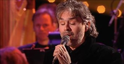 'Can't Help Falling In Love' Andrea Bocelli Live Performance