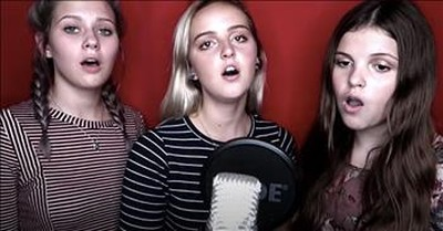 3 Teens Sing A Cappella Hymn 'In Humility, Our Savior'
