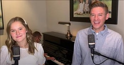Father-Daughter Duet To 'Fly Me To The Moon' And 'Come Fly With Me'