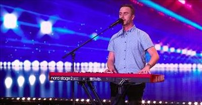 Blind Singer Matt McLaren Stuns The Judges With 'All Of Me' Piano Audition