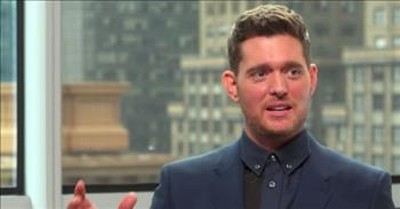 Michael Buble Does Spot On Impressions Of Elvis, Frank Sinatra And More