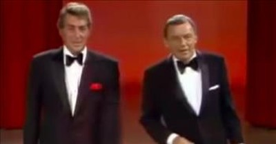 Frank Sinatra And Dean Martin Sing A Medley Of The Classics