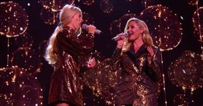 Mother-Daughter Duet To 'You Are The Reason' On BGT Semi-Finals