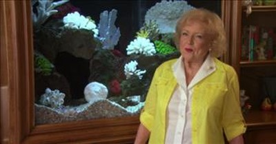 Betty White Gives Us A Hilarious House Tour