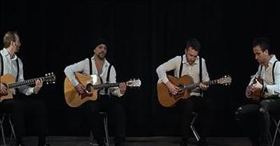40 Fingers Quartet Performs Unique Rendition Of 'Bohemian Rhapsody'