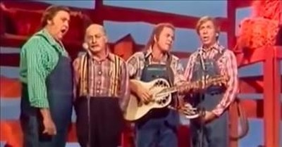 'Amazing Grace' Hee Haw Gospel Quartet Worship Performance