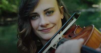'Great Is Thy Faithfulness' Violin Cover Of Classic Hymn