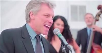 Jon Bon Jovi Stuns Wedding Guests With 'Livin' On A Prayer' Duet During Reception