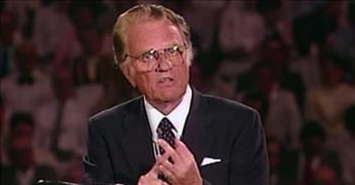 Billy Graham Crusade Sermon Shares The Cure For Our Heart Troubles
