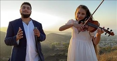 Teen Violinist Performs 'The Prayer' Duet From Andrea Bocelli And Celine Dion