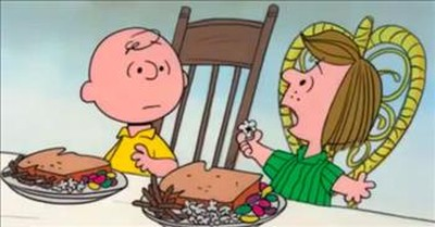 Iconic Charlie Brown Clip Reminds Us Of The Meaning Of Thanksgiving