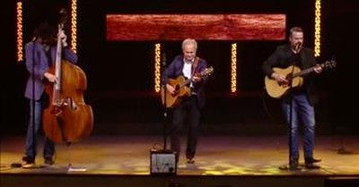 Bluegrass Band Performs 'Lord, I Hope This Day Is Good'
