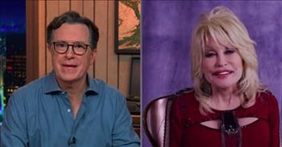 Dolly Parton Brings Late Night Host To Tears With Touching Song