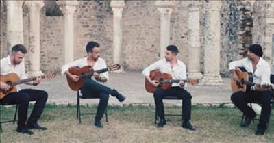 'Tears In Heaven' Performance From Guitar Quartet