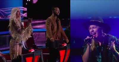 Battle Round On The Voice Has The Judges On Their Feet Cheering