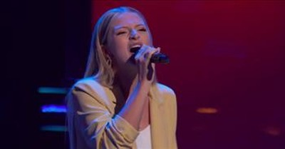 Judge Turns At The Last Second For 'Never Alone' Gospel Audition