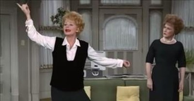 Lucille Ball Teaches Ethel Merman To Sing