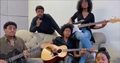 Siblings Perform 'Dreams' Fleetwood Mac Cover in Their Living Room